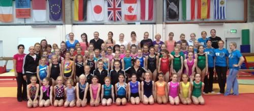 Sugarloaf gymnasts train with Olympians