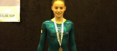 Sugarloaf gymnast wins bronze for Ireland