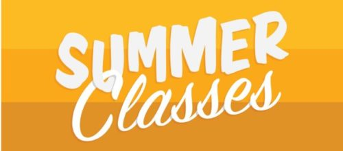 August Summer Classes