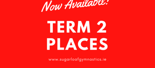 New places for Term 2 now available