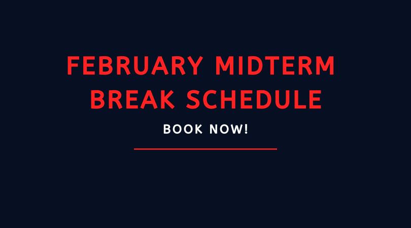 BOOK NOW: February Midterm Break Camp, Classes & Workshops