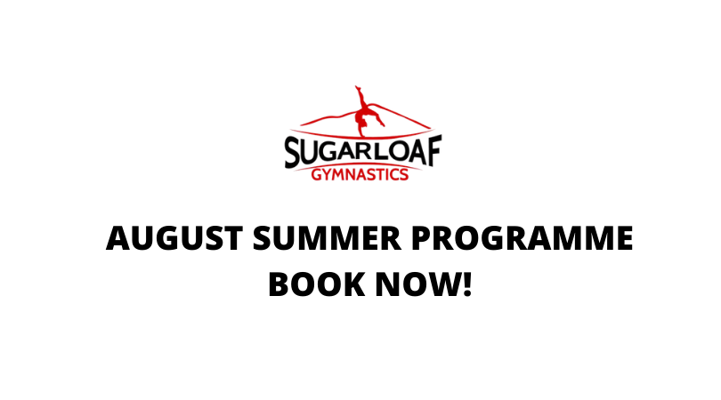 BOOK NOW: August 2020 Summer Programme Places
